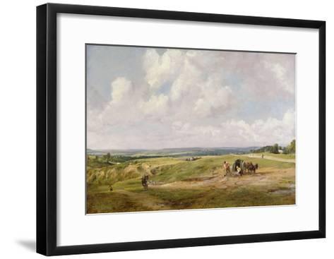 Hampstead Heath, C.1820-John Constable-Framed Art Print