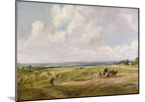 Hampstead Heath, C.1820-John Constable-Mounted Giclee Print