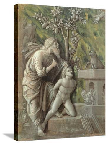 Abraham Sacrificing Isaac, C.1490-95-Andrea Mantegna-Stretched Canvas Print