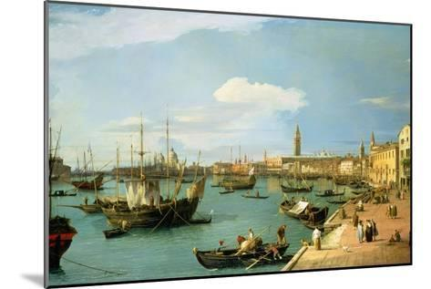 The Riva Degli Schiavoni, Looking West-Canaletto-Mounted Giclee Print