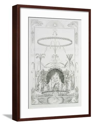 Day, 1805-Philipp Otto Runge-Framed Art Print