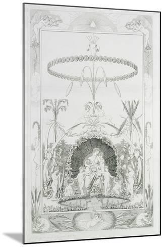 Day, 1805-Philipp Otto Runge-Mounted Giclee Print