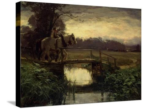 Grey Morning-David Farquharson-Stretched Canvas Print
