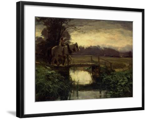 Grey Morning-David Farquharson-Framed Art Print
