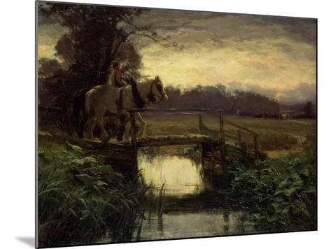 Grey Morning-David Farquharson-Mounted Giclee Print