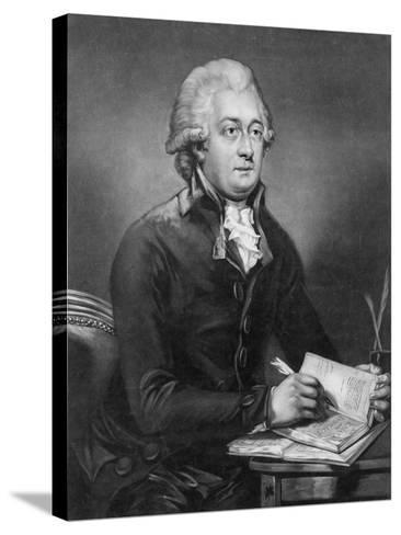 Reverend Thomas Clarkson, M.A. (1760-1846) Engraved by John Young (1755-1825) 1789-Carl Frederik van Breda-Stretched Canvas Print