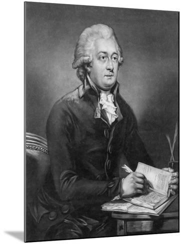 Reverend Thomas Clarkson, M.A. (1760-1846) Engraved by John Young (1755-1825) 1789-Carl Frederik van Breda-Mounted Giclee Print