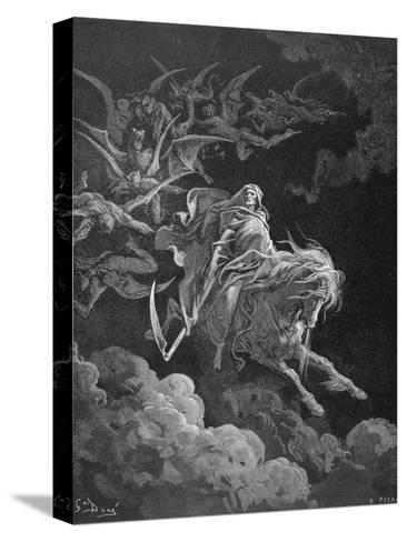 The Vision of Death, Engraved by Heliodore Joseph Pisan (1822-90) C.1868-Gustave Dor?-Stretched Canvas Print