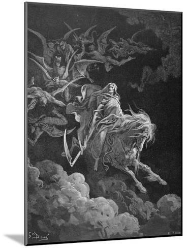 The Vision of Death, Engraved by Heliodore Joseph Pisan (1822-90) C.1868-Gustave Dor?-Mounted Giclee Print
