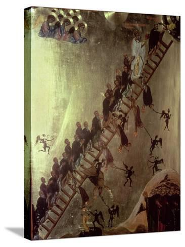 'The Ladder of John Klimakos' Icon, 12th Century--Stretched Canvas Print