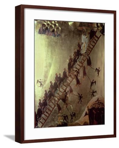'The Ladder of John Klimakos' Icon, 12th Century--Framed Art Print