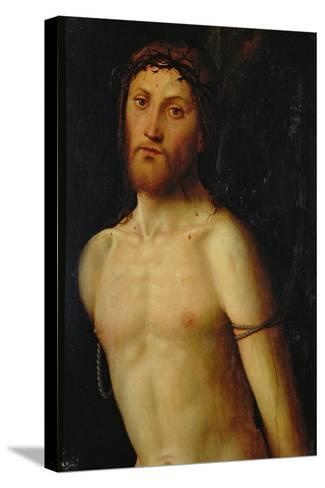 Christ Tied to the Column-Lorenzo Costa-Stretched Canvas Print