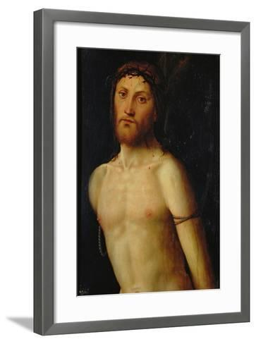 Christ Tied to the Column-Lorenzo Costa-Framed Art Print