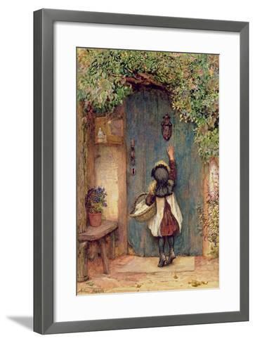 The Visitor-Arthur Hopkins-Framed Art Print