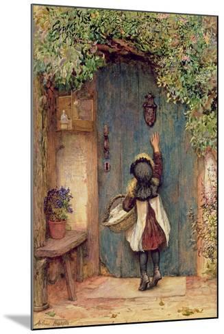 The Visitor-Arthur Hopkins-Mounted Giclee Print