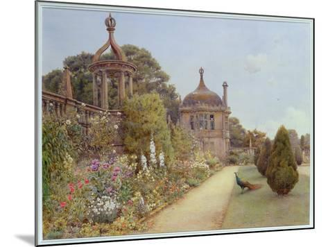 The Gardens at Montacute, Somerset, 1893-Ernest Arthur Rowe-Mounted Giclee Print