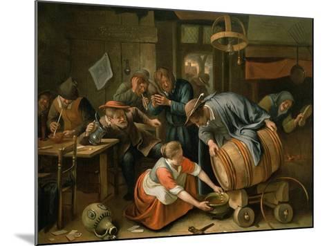 The Last Drop-Jan Havicksz^ Steen-Mounted Giclee Print