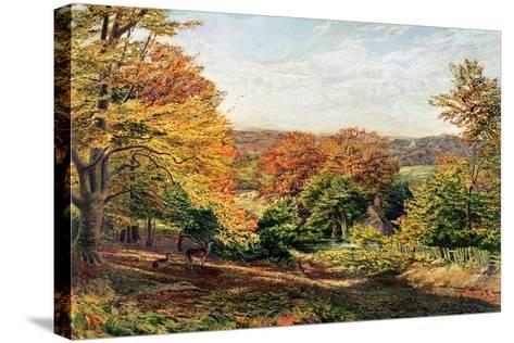 Otford Church-Samuel Palmer-Stretched Canvas Print