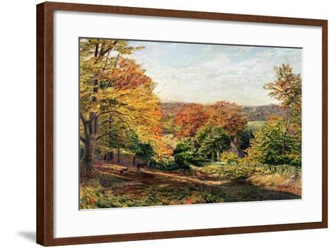 Otford Church-Samuel Palmer-Framed Art Print