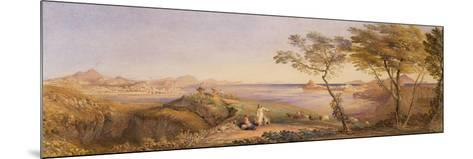 The Bay of Baiae from Monte Nuovo-Samuel Palmer-Mounted Giclee Print