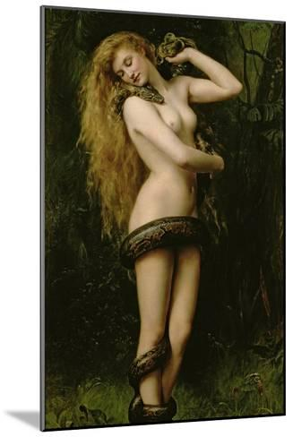 Lilith, 1887-John Collier-Mounted Giclee Print