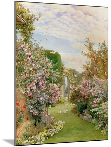China Roses, Broadway-Alfred Parsons-Mounted Giclee Print