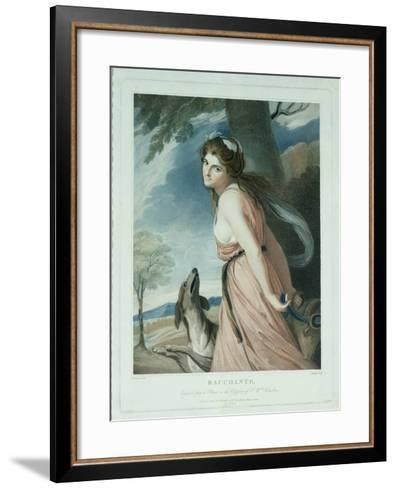 Bacchante, Engraved and Pub. by Charles Knight (1743-C.1826), 1797-George Romney-Framed Art Print