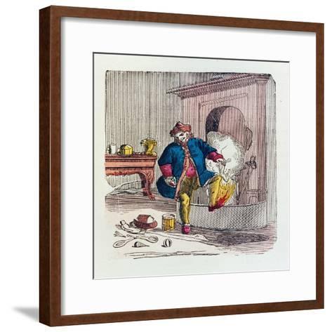 A Visit from St. Nicholas, 1840s-T.C. Boyd-Framed Art Print