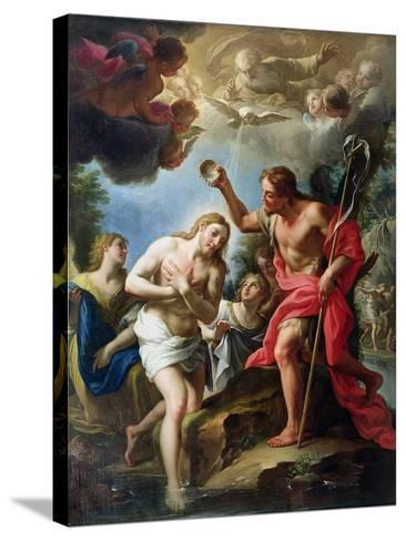 The Baptism of Christ, 1723-Francesco Trevisani-Stretched Canvas Print