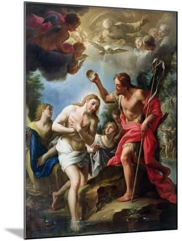 The Baptism of Christ, 1723-Francesco Trevisani-Mounted Giclee Print