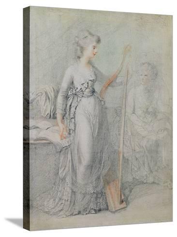 Georgiana, Duchess of Devonshire-Francesco Bartolozzi-Stretched Canvas Print