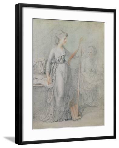 Georgiana, Duchess of Devonshire-Francesco Bartolozzi-Framed Art Print