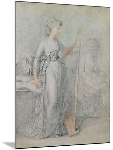 Georgiana, Duchess of Devonshire-Francesco Bartolozzi-Mounted Giclee Print