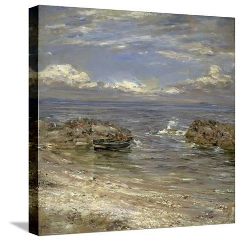 Natural Harbour, Cockenzie-William McTaggart-Stretched Canvas Print
