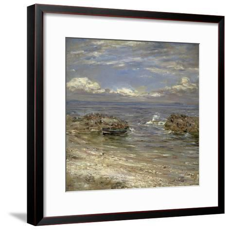 Natural Harbour, Cockenzie-William McTaggart-Framed Art Print