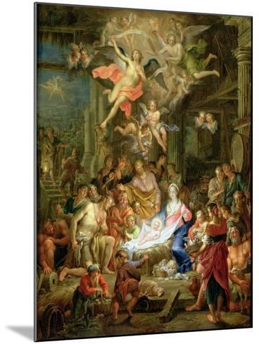 The Adoration of the Shepherds, 1741-Frans Christoph Janneck-Mounted Giclee Print