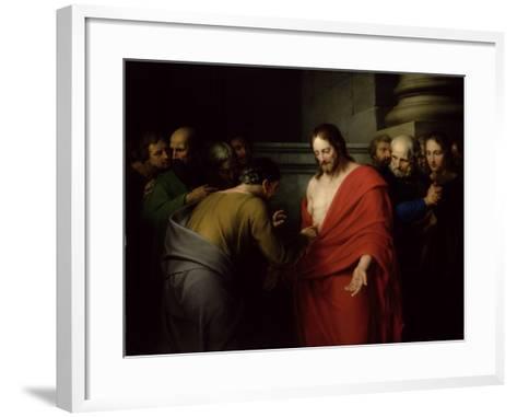 The Incredulity of St. Thomas-Benjamin West-Framed Art Print