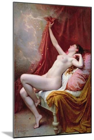 Danae, 1891-Alexandre-Jacques Chantron-Mounted Giclee Print