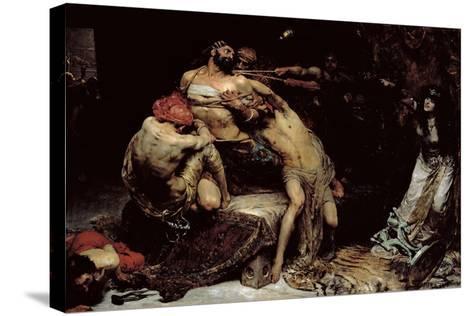 Samson-Solomon Joseph Solomon-Stretched Canvas Print