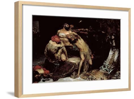 Samson-Solomon Joseph Solomon-Framed Art Print