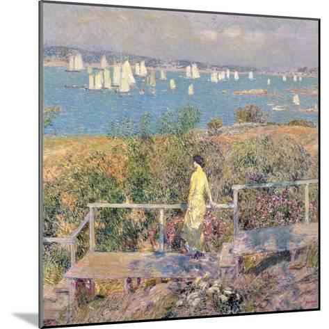 Yachts, Gloucester, 1889-Childe Hassam-Mounted Giclee Print