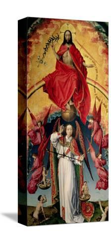 St. Michael Weighing the Souls, from the Last Judgement, C.1445-50-Rogier van der Weyden-Stretched Canvas Print