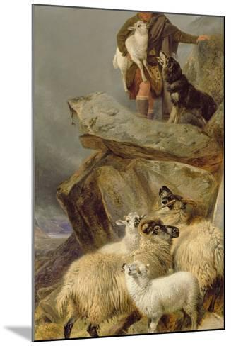 The Rescue, 1883-Richard Ansdell-Mounted Giclee Print