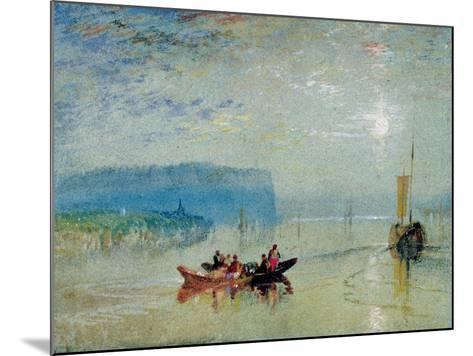 Scene on the Loire, Near the Coteaux De Mauves, C.1830-J^ M^ W^ Turner-Mounted Giclee Print