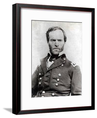 General William Tecumseh Sherman (1820-91)--Framed Art Print