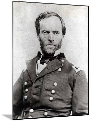 General William Tecumseh Sherman (1820-91)--Mounted Photographic Print