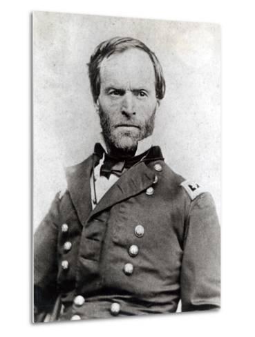 General William Tecumseh Sherman (1820-91)--Metal Print