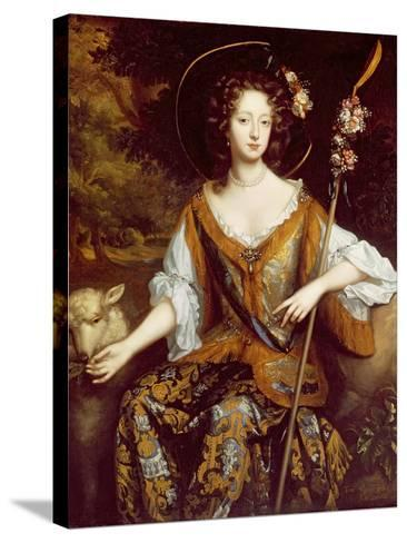 Elizabeth Jones, Countess of Kildare, C.1684-William Wissing-Stretched Canvas Print