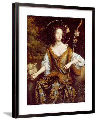 Elizabeth Jones, Countess of Kildare, C.1684-William Wissing-Framed Art Print