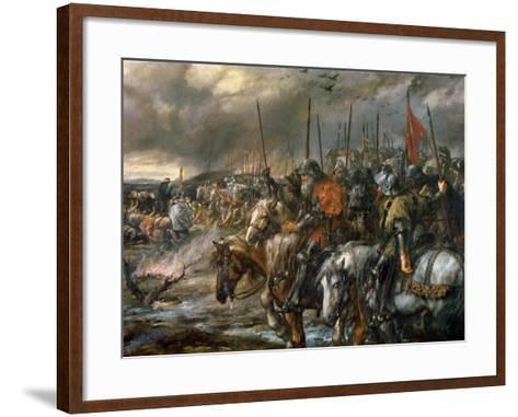 Morning of the Battle of Agincourt, 25th October 1415, 1884-Sir John Gilbert-Framed Art Print